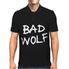 Doctor Who Bad Wolf Mens Polo