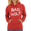 Doctor Who Bad Wolf Womens Hoodie