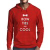 Doctor Who Bow Ties are Cool Mens Hoodie