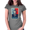 Doctor Who Cyberman Delete Womens Fitted T-Shirt