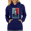 Doctor Who Cyberman Delete Womens Hoodie