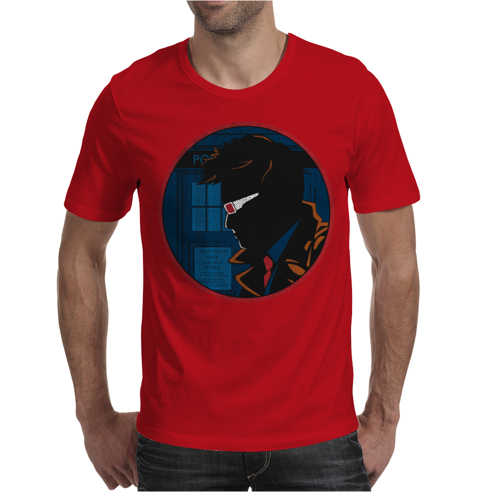 Doctor Who Dick Tracy Mens T-Shirt