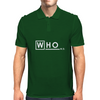 Doctor Who Doctor House crossover Mens Polo