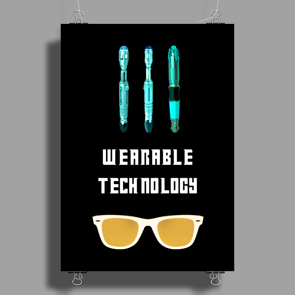 Doctor Who Gadgets Poster Print (Portrait)