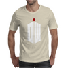 Doctor Who Logo with Fez Dark Gray Mens T-Shirt