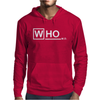 Doctor Who M.D - vintage retro tv show fan Dr Mens Hoodie