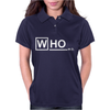Doctor Who M.D - vintage retro tv show fan Dr Womens Polo