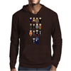 Doctor Who pixel regenerations Mens Hoodie