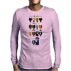 Doctor Who pixel regenerations Mens Long Sleeve T-Shirt
