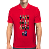 Doctor Who pixel regenerations Mens Polo