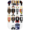 Doctor Who pixel regenerations Phone Case