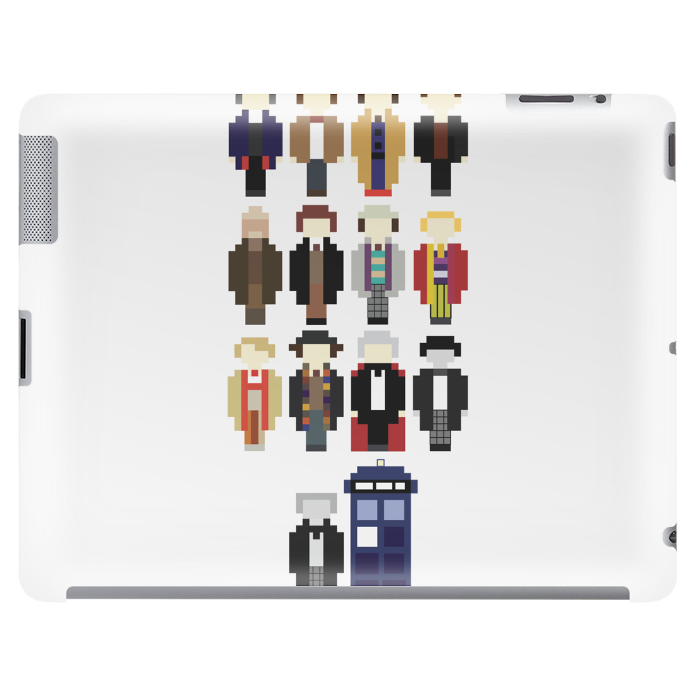 Doctor Who pixel regenerations Tablet