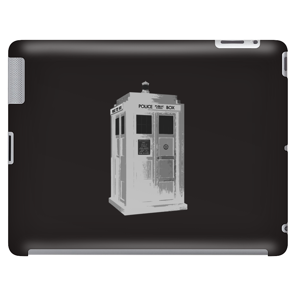 Doctor Who Police Box Tablet (horizontal)