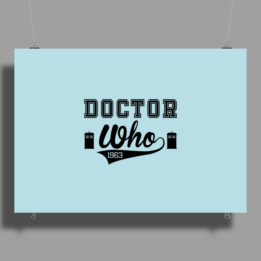 Doctor Who Poster Print (Landscape)
