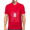 Doctor Who Tally Marks Mens Polo