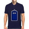 Doctor Who The Tardis. Mens Polo