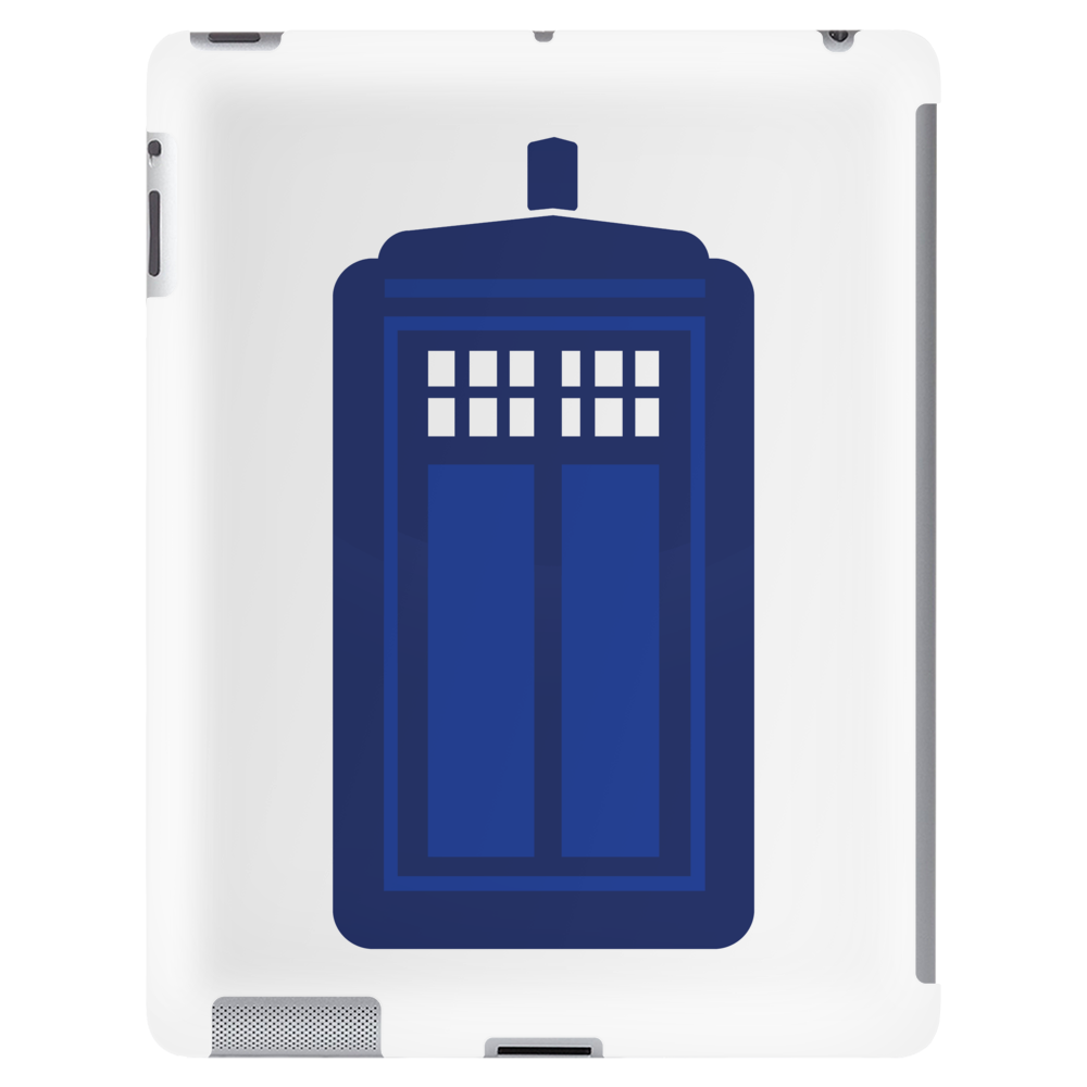 Doctor Who The Tardis. Tablet