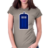 Doctor Who The Tardis. Womens Fitted T-Shirt