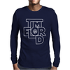 Doctor Who Time Lord Mens Long Sleeve T-Shirt