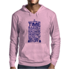 DOCTOR WHO TYPOGRAPHY Mens Hoodie