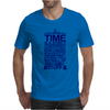 DOCTOR WHO TYPOGRAPHY Mens T-Shirt