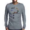 Doctor Who   Whose Who are you? Mens Long Sleeve T-Shirt