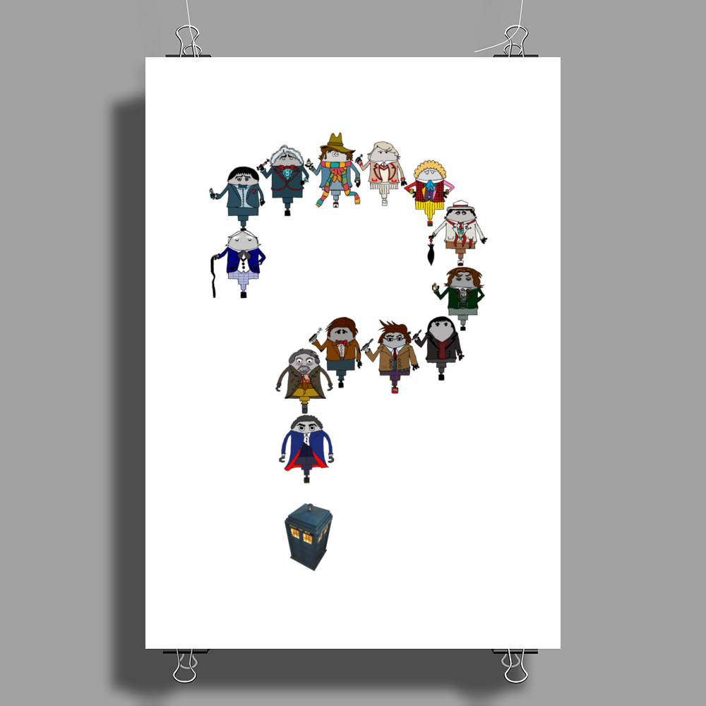 Doctor Who   Whose Who are you? Poster Print (Portrait)