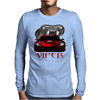 Dodge Red Viper ( Snake ) Mens Long Sleeve T-Shirt