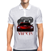 Dodge Red Viper ( Snake ) Mens Polo