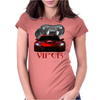 Dodge Red Viper ( Snake ) Womens Fitted T-Shirt