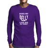 DOES MY BELLY LOOK BIG FUNNY Mens Long Sleeve T-Shirt