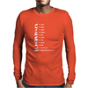 Does The Fox Say Mens Long Sleeve T-Shirt