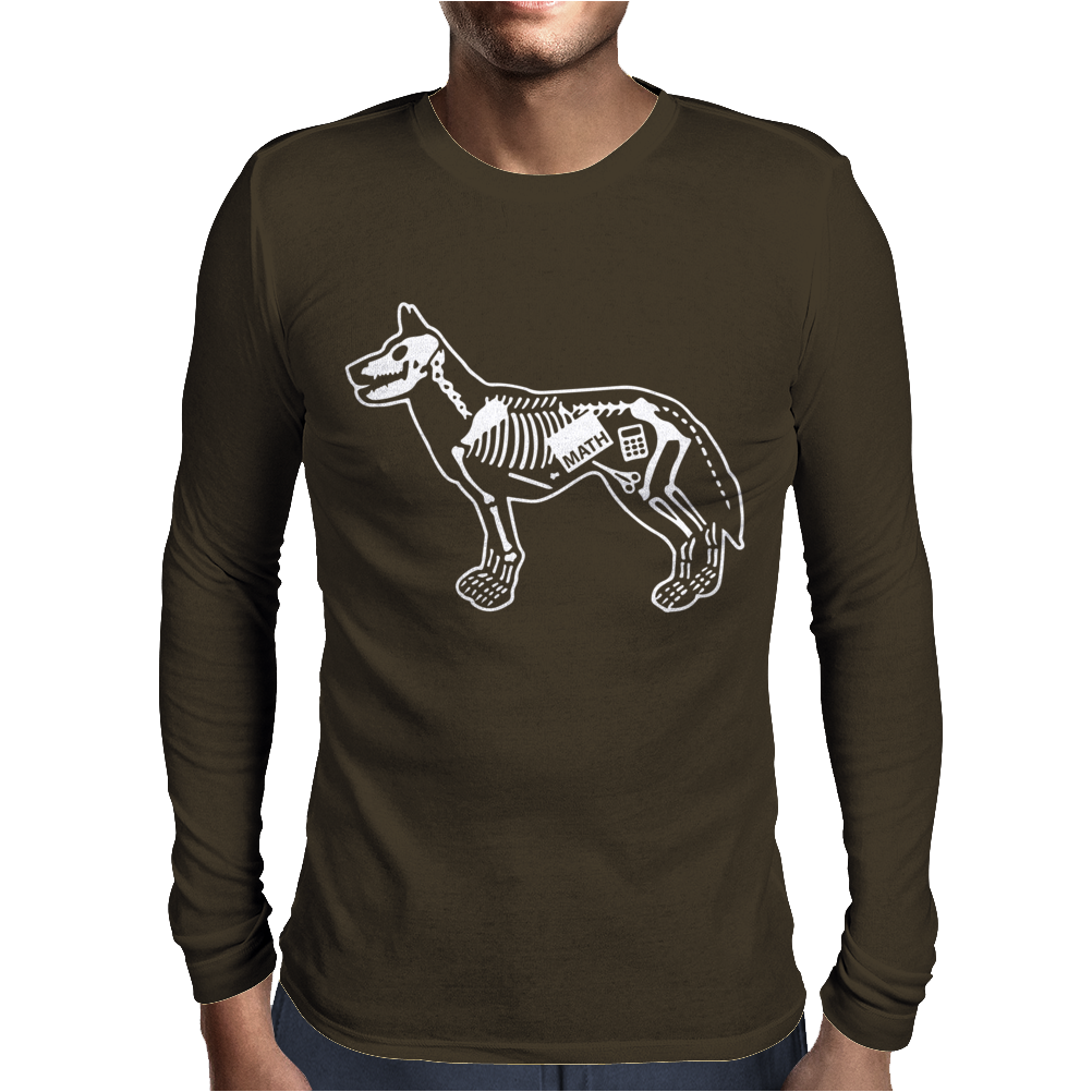 Dog Ate Mens Long Sleeve T-Shirt