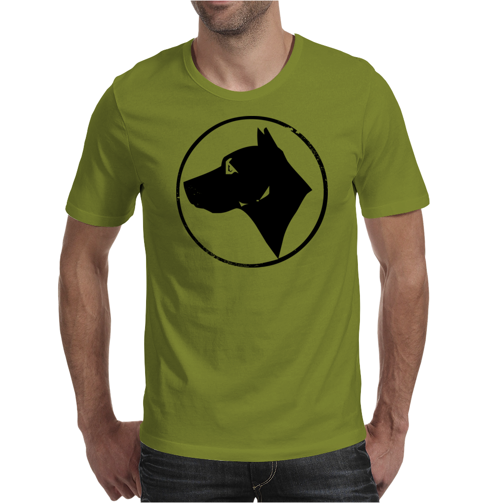 Dog Head Mens T-Shirt