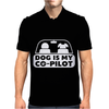 Dog is My Copilot Mens Polo