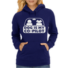 Dog is My Copilot Womens Hoodie