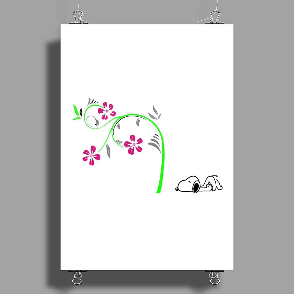 dog lovers Poster Print (Portrait)