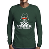 Dog Vader Rat Terrier Mens Long Sleeve T-Shirt