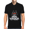 Dog Vader Rat Terrier Mens Polo