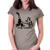 Dog Walker Womens Fitted T-Shirt