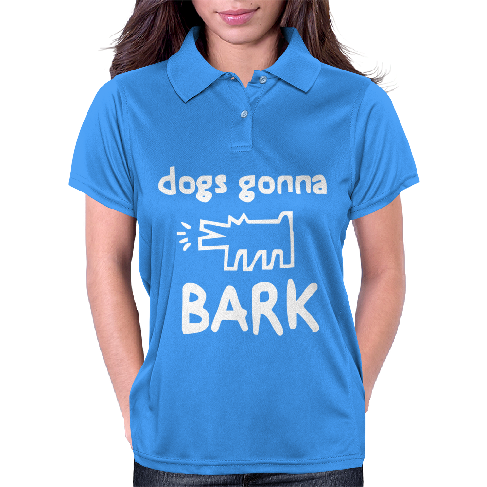 Dogs Gonna Womens Polo