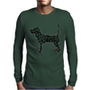 Dogs Mens Long Sleeve T-Shirt