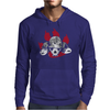 Dogs of War skull Mens Hoodie