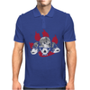 Dogs of War skull Mens Polo