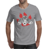 Dogs of War skull Mens T-Shirt