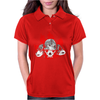 Dogs of War skull Womens Polo