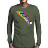 Doing an Internet Mens Long Sleeve T-Shirt