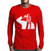 Dolk Grenade Head Urban Graffiti Banksy Style Mens Long Sleeve T-Shirt