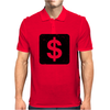 Dollar Sign Mens Polo