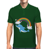 DOLPHIN RAINBOW Mens Polo